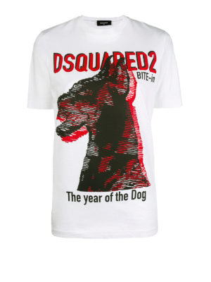 DSQUARED2: t-shirt - T-shirt The Year Of The Dog