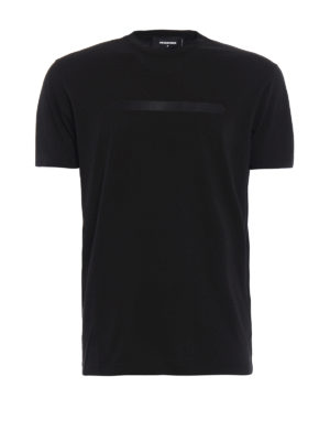 Dsquared2: t-shirts - Total black Tee