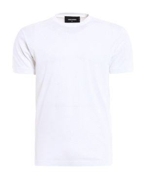 Dsquared2: t-shirts - Total white Tee