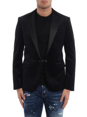 Dsquared2: Tailored & Dinner online - Textured velvet blazer
