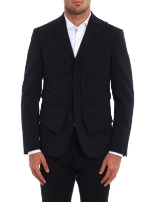 Dsquared2: Tailored & Dinner online - Wool vest blazer