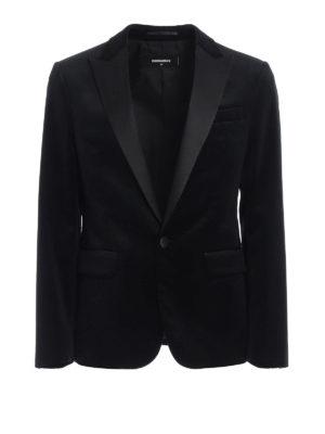 Dsquared2: Tailored & Dinner - Textured velvet blazer