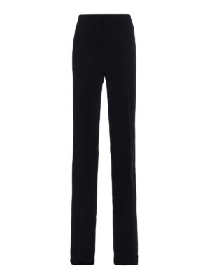 Dsquared2: Tailored & Formal trousers - Light cady black trousers