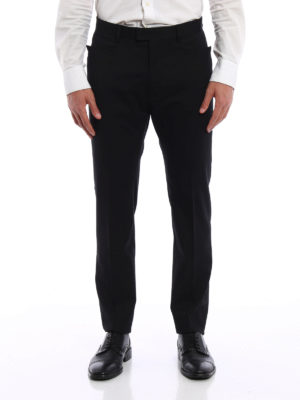 Dsquared2: Tailored & Formal trousers online - Virgin wool trousers