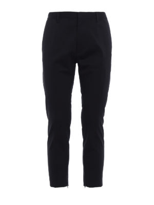 Dsquared2: Tailored & Formal trousers - Wool gabardine trousers
