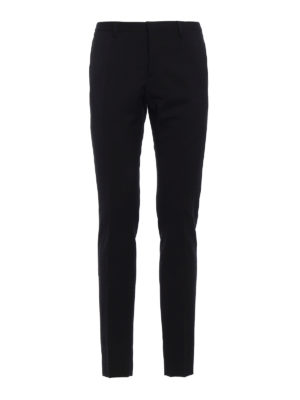 Dsquared2: Tailored & Formal trousers - Wool slim trousers