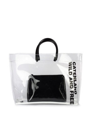 Dsquared2: totes bags - Catenland transparent tote