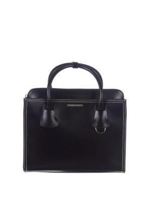 Dsquared2: totes bags - Deana medium black tote