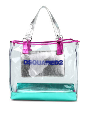 Dsquared2: totes bags - Enjoy the beach tote