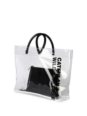 Dsquared2: totes bags online - Catenland transparent tote