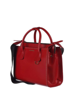 Dsquared2: totes bags online - Deana medium red tote