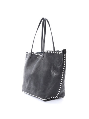 Dsquared2: totes bags online - Studded trims tote