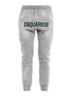 Dsquared2: tracksuit bottoms - Cotton tracksuit bottom with logo