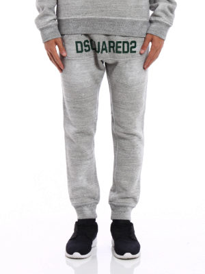 Dsquared2: tracksuit bottoms online - Cotton tracksuit bottom with logo