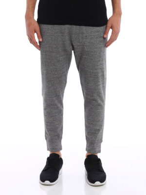 Dsquared2: tracksuit bottoms online - Melange tracksuit bottoms