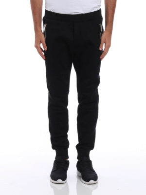 Dsquared2: tracksuit bottoms online - Zipped neoprene tracksuit bottoms