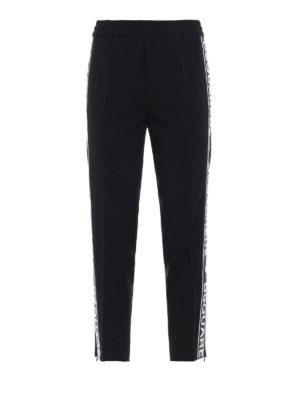 DSQUARED2: pantaloni sport - Pantaloni della tuta in cady di lana