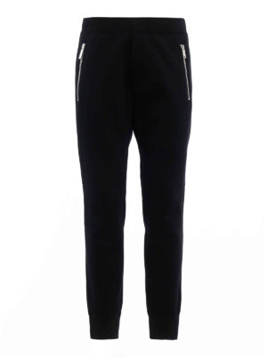 Dsquared2: tracksuit bottoms - Zipped neoprene tracksuit bottoms