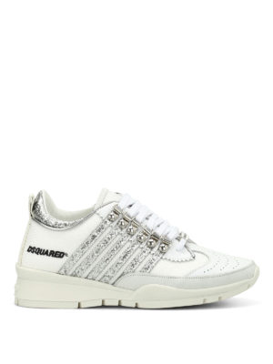 Dsquared2: trainers - 251 leather and fabric sneakers