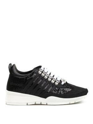 Dsquared2: trainers - 251 sequinned sneakers