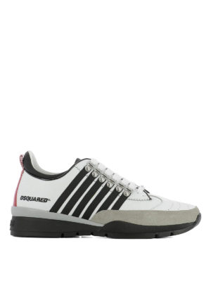 Dsquared2: trainers - 251 white leather sneakers