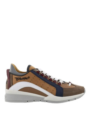 Dsquared2: trainers - 551 beige lightweight sneakers