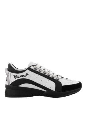 DSQUARED2: sneakers - Sneaker 551 bicolor