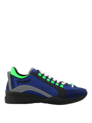 Dsquared2: trainers - 551 blue lightweight sneakers
