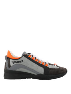 Dsquared2: trainers - 551 grey lightweight sneakers
