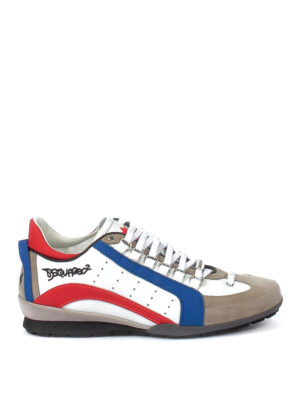Dsquared2: trainers - 551 leather and nubuck sneakers
