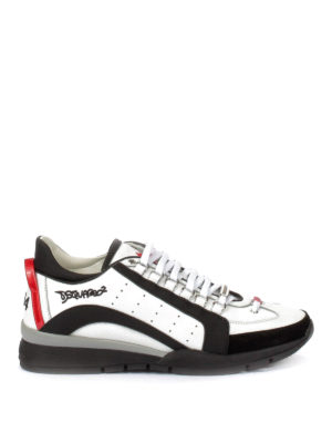 Dsquared2: trainers - 551 leather and nylon sneakers