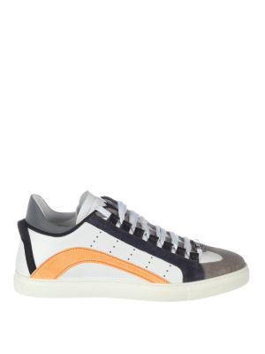 Dsquared2: trainers - 551 leather and suede sneakers