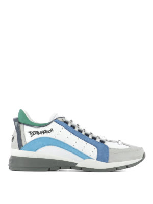 Dsquared2: trainers - 551 leather sneakers