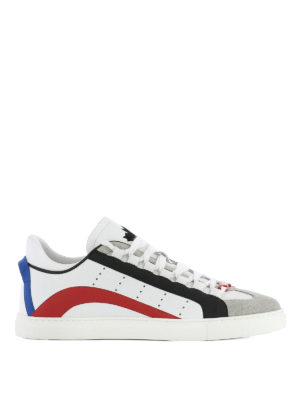 Dsquared2: trainers - 551 multicolour leather  sneakers