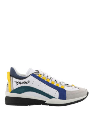 Dsquared2: trainers - 551 nubuck detail leather sneakers