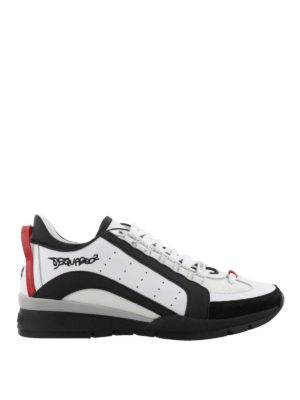 Dsquared2: trainers - 551 white lightweight sneakers