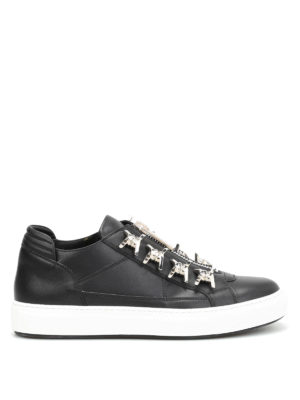 Dsquared2: trainers - Asylum metal detail zipped sneakers