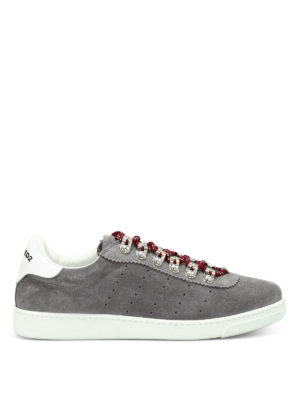 Dsquared2: trainers - Barney suede sneakers