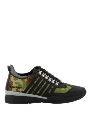 Dsquared2: trainers - Camouflage 251 sneakers
