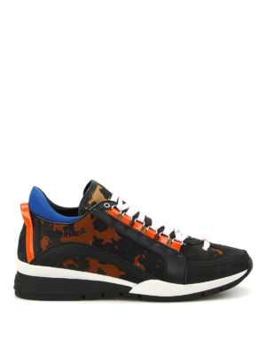 Dsquared2: trainers - Camouflage 551 sneakers