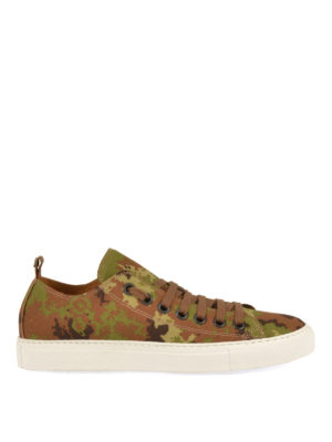 Dsquared2: trainers - Camouflage Basquettes sneakers