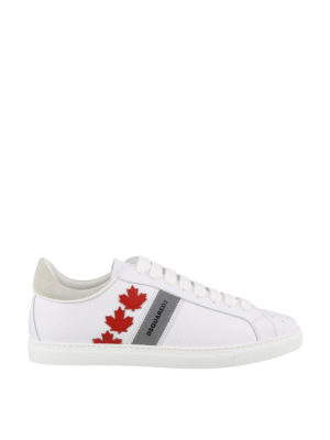 93a784f4d2c DSQUARED2  sneakers - Sneaker Canadian Team in pelle