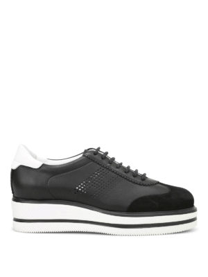 Dsquared2: trainers - H323 New Route wedge lace-ups