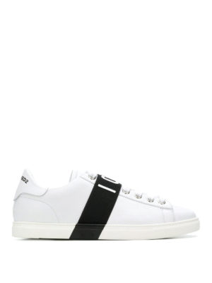 DSQUARED2: sneakers - Sneaker Icon Low in pelle