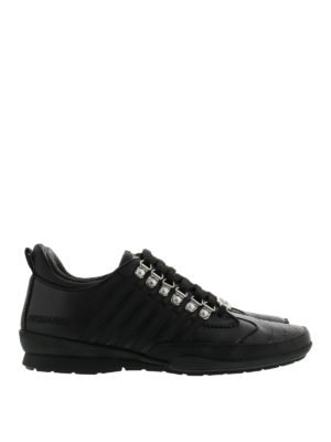 Dsquared2: trainers - Leather 251 sporty sneakers