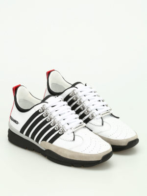 Dsquared2: trainers online - 251 leather sneakers