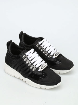 Dsquared2: trainers online - 251 sequinned sneakers