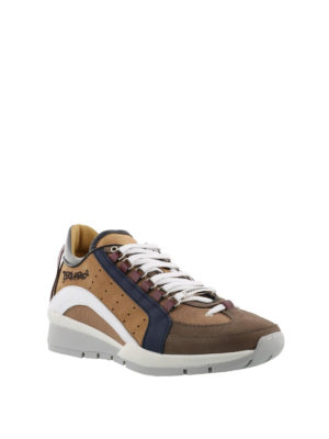 Dsquared2: trainers online - 551 beige lightweight sneakers