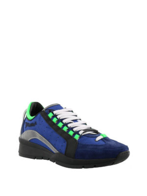 Dsquared2: trainers online - 551 blue lightweight sneakers