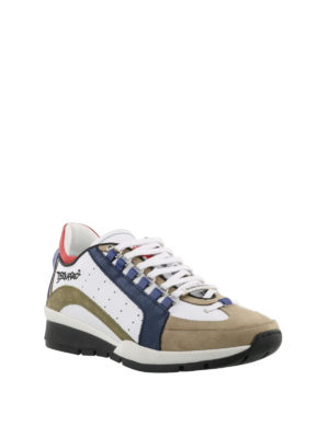 Dsquared2: trainers online - 551 leather and nubuck sneakers